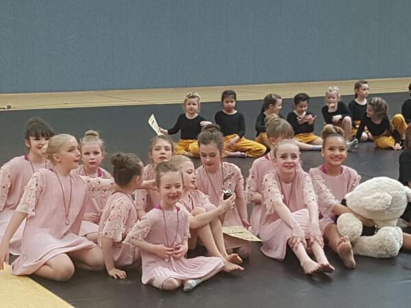 Turnierformation - sankids - Tanzstudio Susanne Gauf